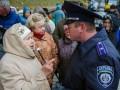 Милиция предлагала тушенку пенсионерам, пикетировавшим Кабмин