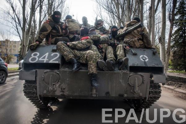 ОБСЕ зафискировала скопление техники в районе Луганска