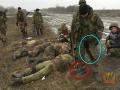 Волонтеры показали российских боевиков, застреливших украинских военных возле Дебальцево