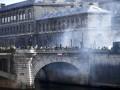 Протесты в Париже: более 20 задержанных