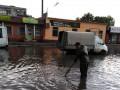 В Кропивницком из-за дождя подтопило улицы