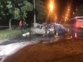 Смертельное ДТП в Запорожье: Авто загорелось после лобового столкновения