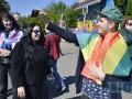 В Киеве прошла ЛГБТ-акция