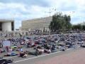 В России прошел антивоенный флешмоб