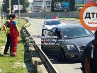 ДТП в Киеве: водитель скончался за рулем