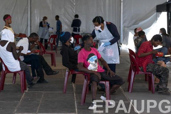 В Африке борются с коронавирусом
