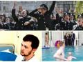 День в фото: Выпускной полицейских, Афанасьев в больнице и Кличко в бассейне