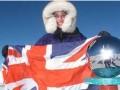 Британка стала самой юной покорительницей Южного полюса
