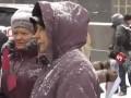 Жители Смелы пикетируют Кабмин, Мэра на заседание к Гройсману якобы не пустили