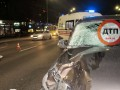 В Киеве авто насмерть сбило человека на пешеходном переходе