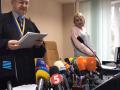 Суд зачитывает приговор Зайцевой и Дронову: зал заполнен