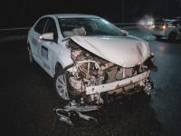 Гололедица: Более 20 авто столкнулись на трассе под Киевом