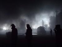 Угрозы взрыва на нефтебазе под Киевом нет, к вечеру топливо должно перегореть