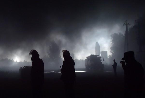 Угрозы взрыва нанефтебазе под Киевом больше нет— руководитель ГСЧС