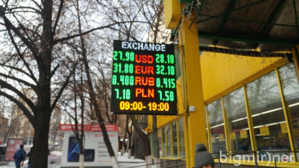 На черном рынке утром, 16 января, доллар можно купить в среднем за 28,10 грн