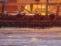 В порт Мариуполя прибыла танковая рота