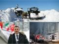 День в фото: Кличко в Давосе, юг в снегах и пожар в Киеве
