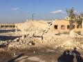 Появилось жуткое видео последствий российского авиаудара по больнице в Сирии