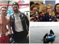 День в фото: украинский боксер с голливудской звездой, заседание Верховной Рады и спасение утопающей