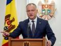 Президента Молдовы временно отстранили от должности