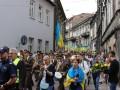 Украинское шествие в Польше встретили антибандеровским пикетом