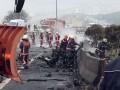 В Стамбуле рухнул вертолет с россиянами на борту