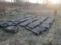 В Луганской области нашли тайник крупнокалиберных снарядов - видео
