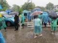 На Прикарпатье жители заблокировали дорогу