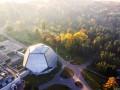 В Киеве из-за стройки моста повредили земли ботанического сада
