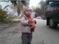 Брошенная под Киевом девочка вернулась домой (ВИДЕО)
