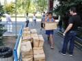 Жители Донбасса получили 20 тонн гуманитарной помощи от волонтеров