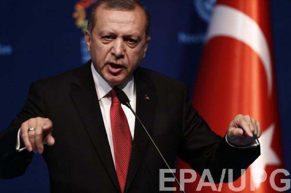Эрдоган покинул Стамбул