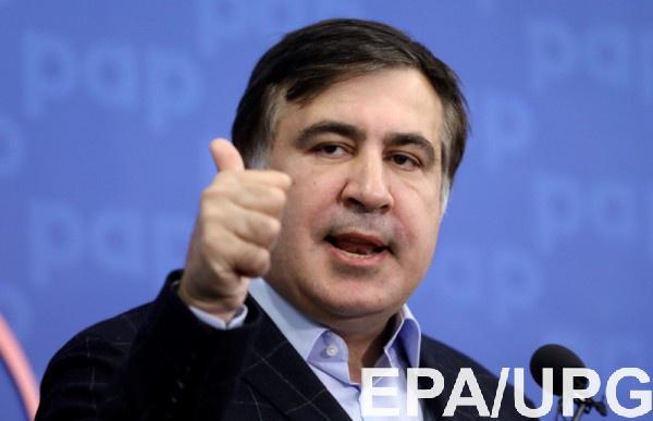 """Саакашвили """"с боем"""" вернулся в Украину"""