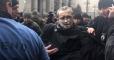 Под Офисом президента мужчина совершил самоподжог: Опубликовано видео