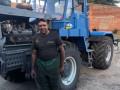 Тракторист на Харьковщине спас от пожара несколько десятков домов