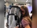 В США школьников обязали носить прозрачные рюкзаки
