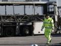 В Италии водитель угнал и сжег школьный автобус