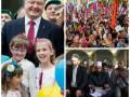 Неделя в фото: Курбан-Байрам у мусульман, юбилей у Порошенко и Марш Мира у россиян