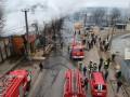 В Одессе сгорели ресторан, магазин и кафе