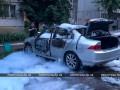 В Днепропетровской области подорвали авто титулованного спортсмена