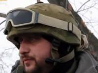 Бойцы наглядно опровергли версию о взрыве мины под Волновахой