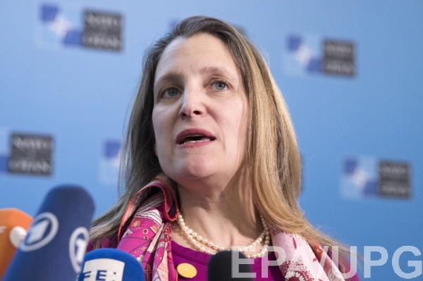Фриланд высказалась о возвращении РФ в ПАСЕ и реформах в Украине