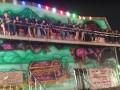 Жесткое падение людей из карусели сняли на видео