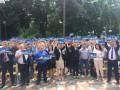 Савченко провела съезд своей партии возле здания Верховной Рады
