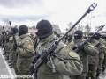 Новое оружие для Нацгвардии: фоторепортаж из Новых Петровцев