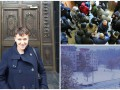 Итоги 26 октября: Савченко в Москве, протест в Николаеве и первый снег в Украине