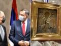 Босния возбудила дело из-за подаренной Лаврову древней украинской иконы