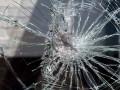 Неизвестные закидали камнями автобусы возле Кривого Рога