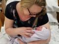 Не подозревавшая о беременности медсестра родила ребенка