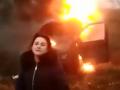"""""""Нас будет много!"""": активистка сожгла авто на евробляхах и пригрозила Зеленскому"""